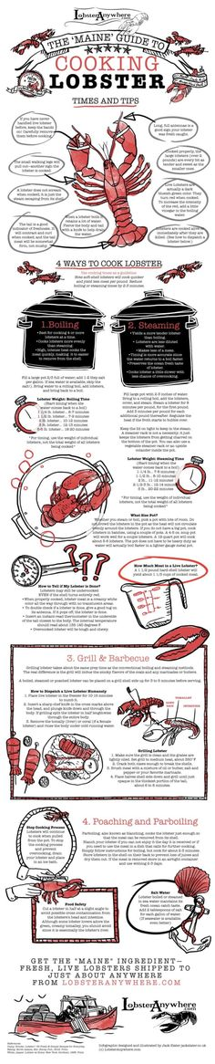 The Ultimate Guide to Cooking Lobsters