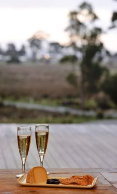 Relax with a glass of wine on the deck of The Lodge, Adventure Bay Retreat, Bruny Island. Adventure Time, Adventure Travel, Bruny Island, Champagne, Largest Countries, Luxury Travel, Luxury Hotels, Pretty Photos, Amazing Adventures