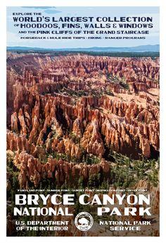 Hoodoos along the Rim Trail, Bryce Canyon National Park