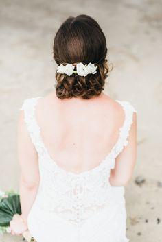 #brautfrisur Romantische Strandhochzeit an der Nordsee | Hochzeitsblog The Little Wedding Corner