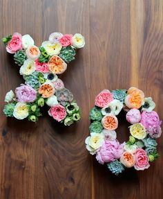 DIY: Flower Letters! | Art And Chic