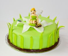 Tinkerbell cake Tinkerbell, Cake, Desserts, Food, Tailgate Desserts, Deserts, Kuchen, Essen, Postres