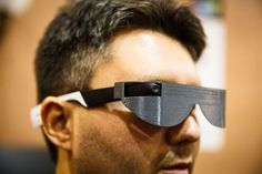 Aira smart glasses help blind people see the world - CNET Medical Technology, Wearable Technology, Technology Gadgets, Wooden Sandals, Mobility Aids, Eyeglasses, Blinds, Eyewear, Mens Sunglasses