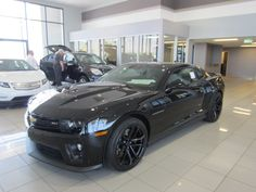 Absolutely positively the coolest Camaro I have ever seen - EVER! 2012 Chevrolet Camro ZL! - and it's here!