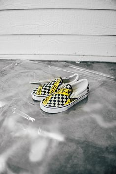 Custom Vans slip on with Off-White details.* Price includes brand new pair of Vans Old Skool + ...