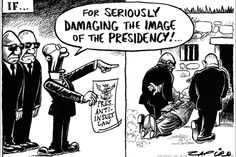 Zapiro: Insulting the presidency - If only!