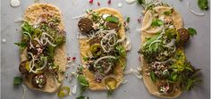 Get a sneak peek at the first TT Incubator dinner with this herb-packed falafel from chefs Sara Kramer and Sarah Hymanson.