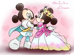 Prince Mickey Princess Minnie by chico-110 on DeviantArt