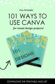 Heres a list of 101 Canva Graphic Design Ideas and Tips of things that you can create!