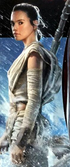Star Wars: Rey. I really like her already.
