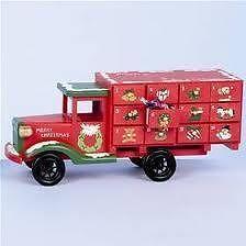Wooden advent calendar - Christmas Truck
