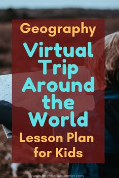 No money to travel? Take your kids on a virtual trip around the world from the comfort of your living room. Activities, games and Geography Lesson Plan for Kids, making learning fun. World Geography Lessons, Geography Lesson Plans, Geography Activities, Geography For Kids, Teaching Geography, Geography Revision, Gcse Geography, Family Activities, Geography Classroom