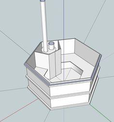 Thermal Mass Rocket Stove | Filename: hottub compleet.JPGDescription: complete hottub