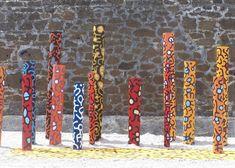 totem bois jardin | ivre de lettres et de couleurs: août 2012