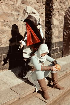 Altair Cosplay with Highfrency as Ezio from Assassin's Creed Movie Costumes, Cool Costumes, Best Cosplay, Awesome Cosplay, Assessin Creed, Assassins Creed Series, Dragon Age, Skyrim, Fantasy Art