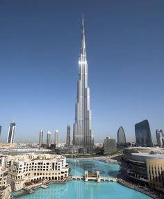 Burj Khalifa, Tallest Building - UAE
