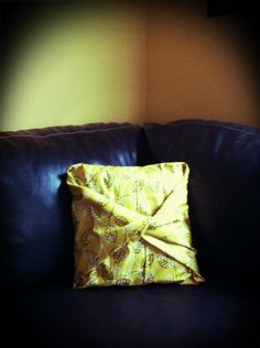 Audra's No Sew Pillow Covers!