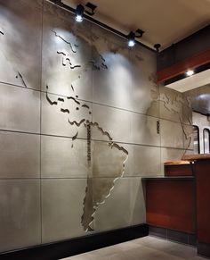 concrete tiles, concrete cladding and panels, and concrete wall design brings…
