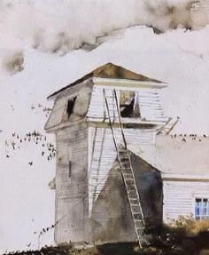Andrew Wyeth - The Roofer, 1988