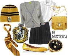Harry Potter fashion (costume ideas?) - Hufflepuff