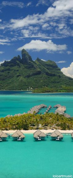 Bora Bora French Polynesia, Tahiti, Places To Travel, Places To Visit, France, South Pacific, Beautiful Places, Amazing Places, Great View