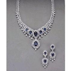 Diamonds and sapphires