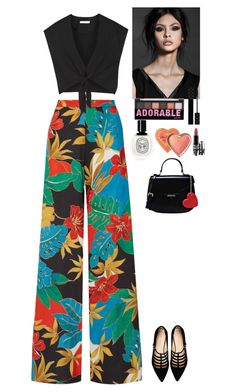 """Outfit"" by eliza-redkina on Polyvore featuring Alice + Olivia, Carlo Pazolini, Gucci, MAC Cosmetics, NYX, Diptyque, Love Moschino, StreetStyle, outfit and like"