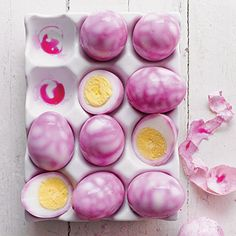 Marbled Eggs | Pickled beets give Chinese tea eggs a colorful flavor makeover.