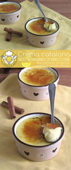 Crema catalana: come preparare questo delizioso dolce al cucchiaio con crosticina di caramello croccante e interno fresco e cremoso, ricetta originale di Barcellona #dessert #spanish #barcelona #foodporn #foodphotography