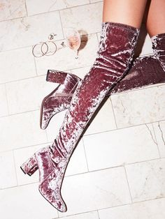 Parkway Thigh High Boot | Free People | Covetboard Modernist Fashion Lifestyle
