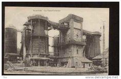 DL128 St. Dizier France Les Hauts Fourneaux Blast Furnace Iron Ore to Steel