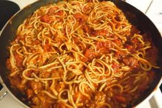 The Best Spaghetti Recipe - - The Best Spaghetti Recipe Main meals The Best Spaghetti Recipe- I made this spaghetti as my daughters request for her bday & it was soo good! Best Spaghetti Recipe, Spagetti Recipe, Spaghetti Sauce, Homemade Spaghetti, One Pot Spaghetti, Sausage Spaghetti, Onion Recipes, Pork Recipes, Skinny