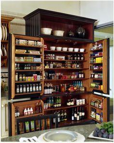 Roundup: 10 Drool-Worthy Kitchen Pantries » Curbly | DIY Design Community « Keywords: Roundup, organization, Kitchen, pantry
