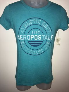 Junior's Aeropostale Shirt Size Medium NWT  | eBay
