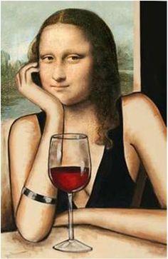 Love it! Wine lovers basque in the beauty.