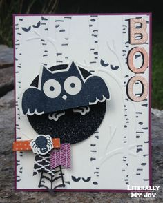 Who Boos | Stampin' Up! | Howl-o-ween Treat |Among the Branches | Paper Craft…