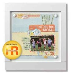 Nancy O'Dell Summer Bucket List Project - What do you plan to do this summer?  Create an everyday display with your summer bucket list and the new CM Summer Additions.
