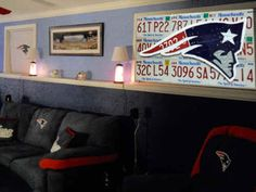 Paint Colors New England Patriots And England Patriots On Pinterest
