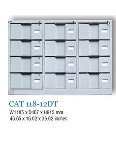 Tủ thấp 12 ngăn kéo TU118-12DT