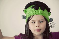 Frankie the Frankenstein Hat for Dress Up Fun Halloween Photography Props and more