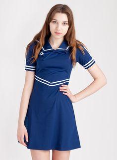 Women's Navy Sailor Dress