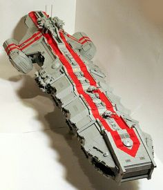 Lego giant spaceship