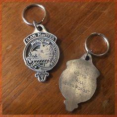 Clan MacIver Metal Keyring