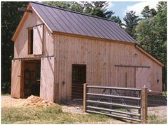 Small horse barn designs custom built sheds sheds for for Hay shed plans