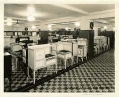 Detroit Jewel and AB Stove Company kitchen stoves and ranges sold at The J.