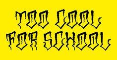Trash Skate: 616 & Too Cool For School on Behance