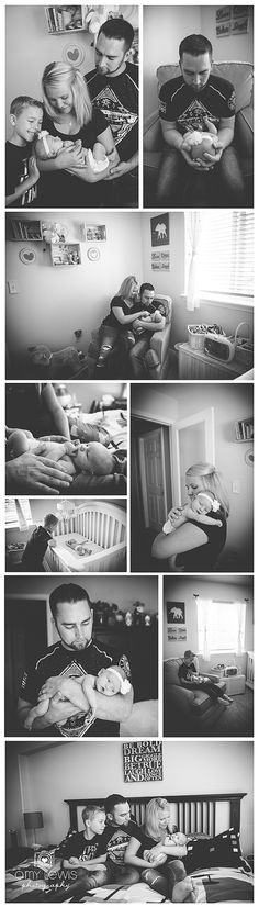 Newborn lifestyle session Amy Lewis Photography