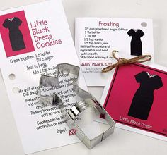 Little Black Dress Cookie Cutter  Tin Cookie Cutters by swigshoppe, $3.99