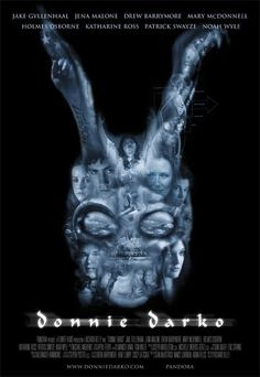 High resolution official theatrical movie poster ( of for Donnie Darko Image dimensions: 2033 x Directed by Richard Kelly. Mary Mcdonnell, Scary Movies, Great Movies, Horror Movies, Jena Malone, Drew Barrymore, Jake Gyllenhaal, Movie Poster Art, Film Posters