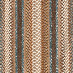 Safavieh Braided Collection Hand Woven Brown and Multi Runner 2 3 x 6